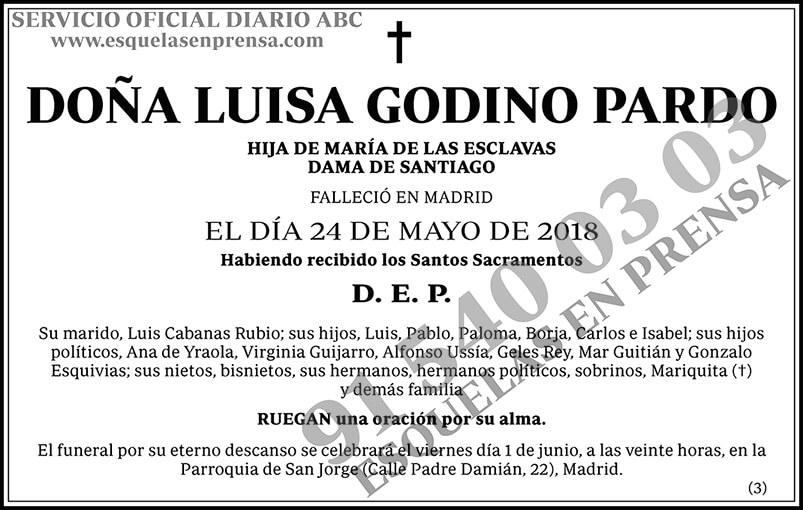 Luisa Godino Pardo